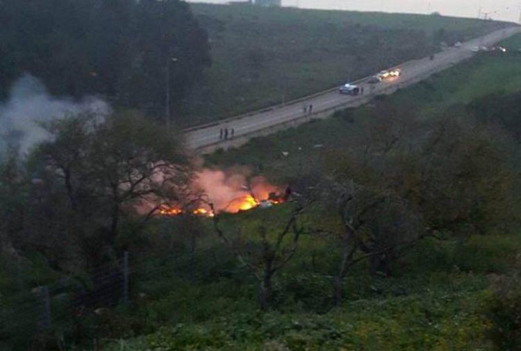 İsrail İHA'yı vurdu, Suriye de İsrail F-16'sını düşürdü