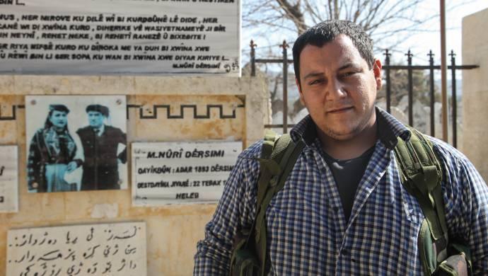 Nûrî Dersimî'nin torunu Efrîn savunmasında: Efrîn'i kolay lokma sandılar