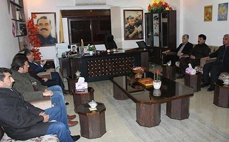 Kürdistan Parlamenterlerinden Efrin'e ziyareti