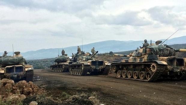 İranlı milisler, Afrin'de Türk tanklarını vuruyor
