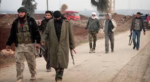 İDLİB/ DAIŞ militanları kitlesel bir şekilde ÖSO'ya 'teslim' oluyor