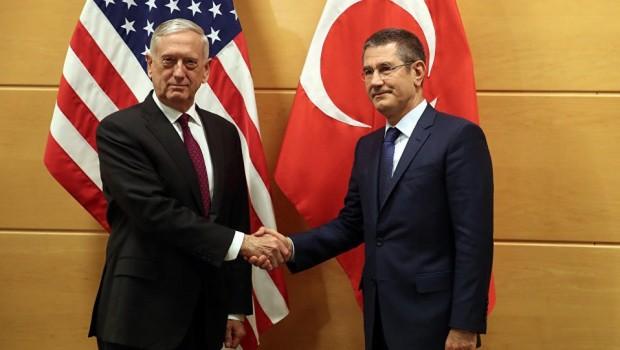 Pentagon'dan Türkiye'ye: IŞİD'e odaklan