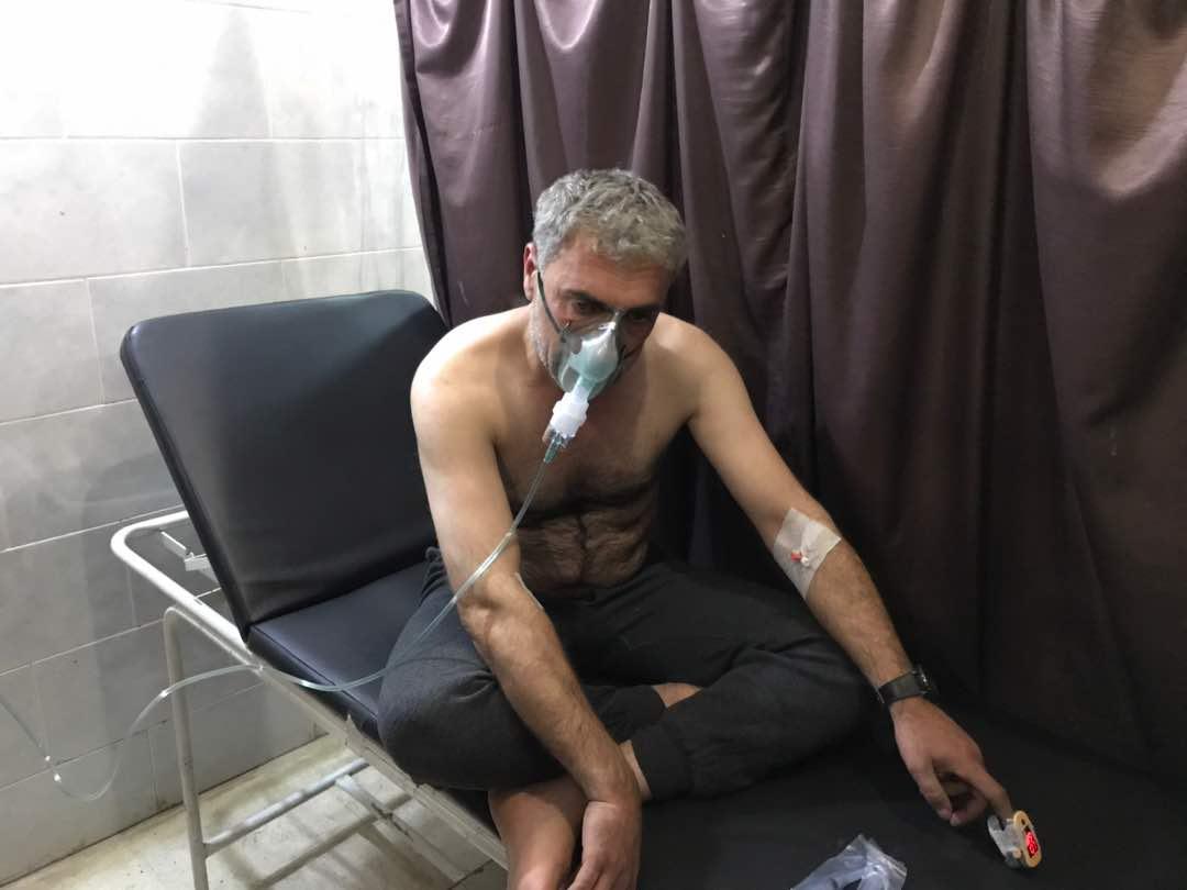 Türkiye Efrin'de zehirli gaz kullandı!