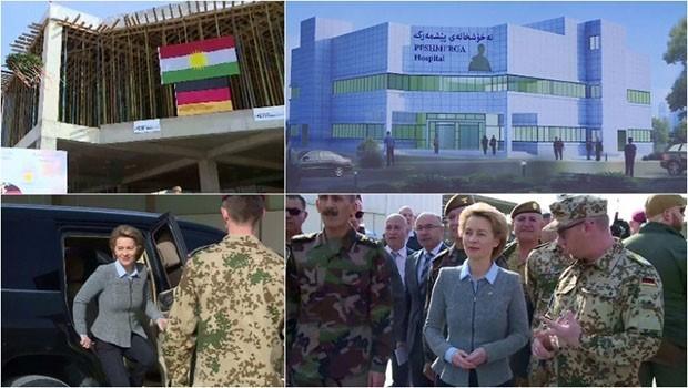 Almanya Savunma Bakanı'ndan Kürdistan'a ziyaret