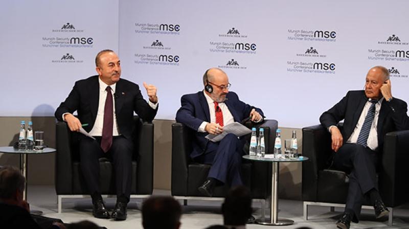 Çavuşoğlu'na Arap Birliği'nden Afrin eleştirisi