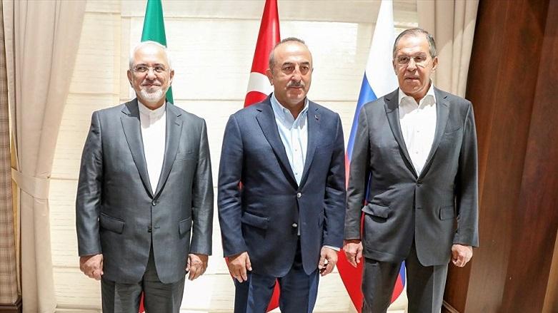 Astana'da üçlü görüşme