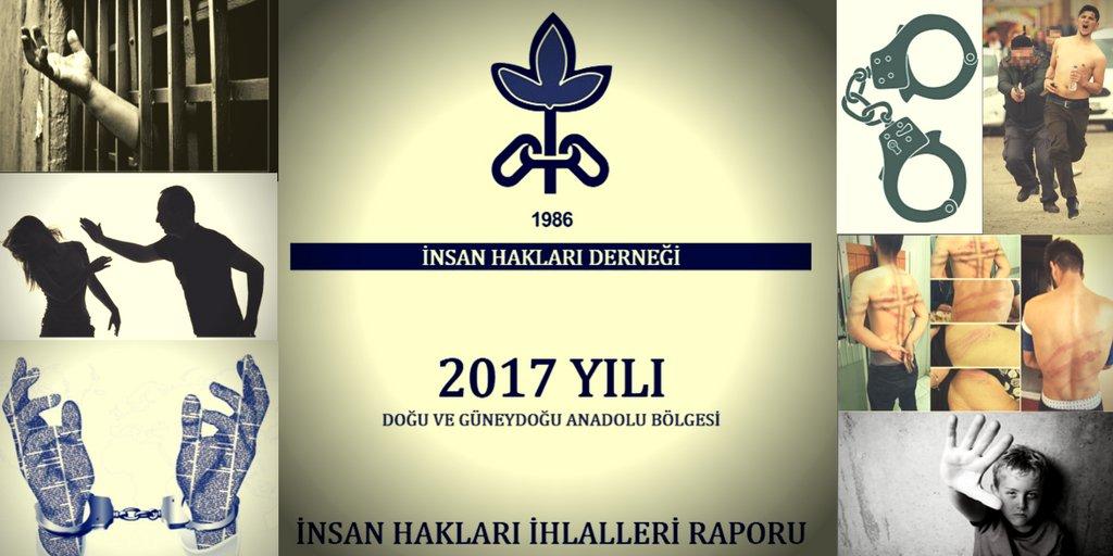 İHD Amed'den 2017 hak ihlalleri raporu