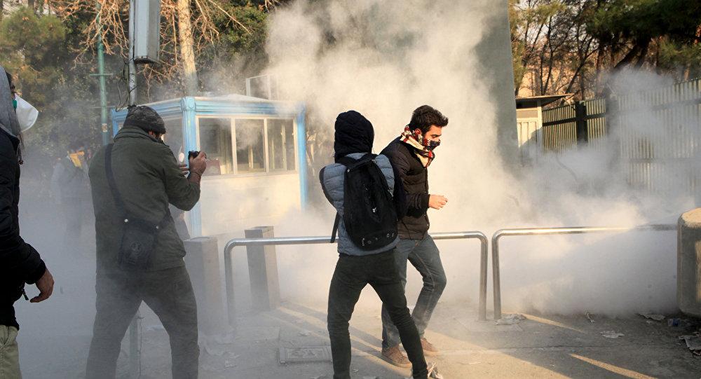 İran'ın başkenti Tahran'da gerginlik: 3 polis öldürüldü