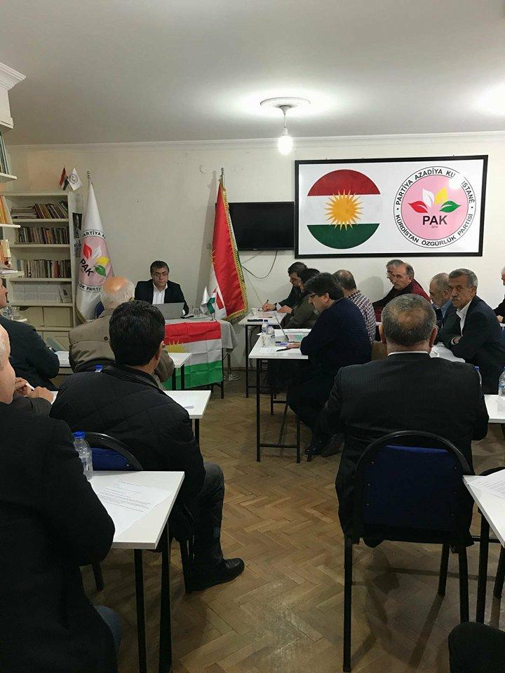 PAK Parti Meclisi 13. toplantısını Diyarbakır'da gerçekleştirdi