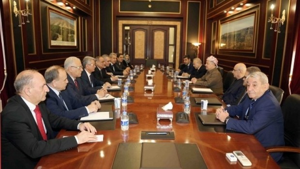 Başkan Barzani ENKS temsilcileriyle bir araya geldi