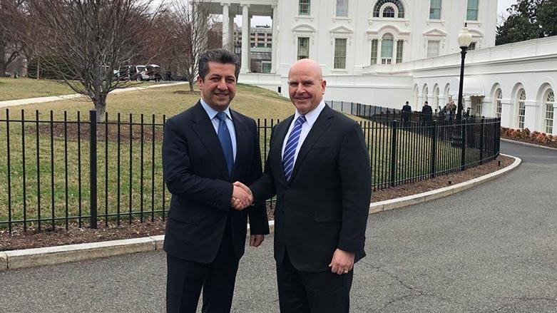 Mesrur Barzani, McMaster ile görüştü