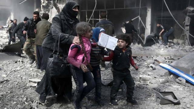 Doğu Guta/ Esad'la ÖSO arasında çatışma