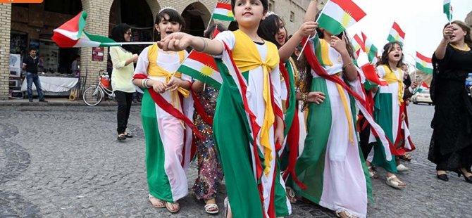 Erbil'de bağımsızlık karnavalı