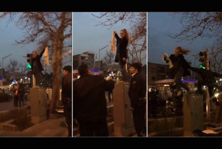 İranlı kadınlar sokaklardan çekilmiyor!