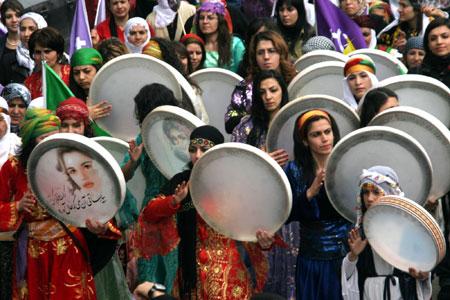 Kürdistan'da 8 Mart'a tahammülsüzlük!