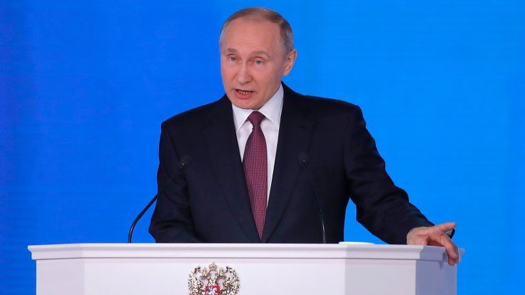 Küresel silahlanma yarışı...Putin: Dünyanın her yerine ulaşabilecek füze yapıyoruz!