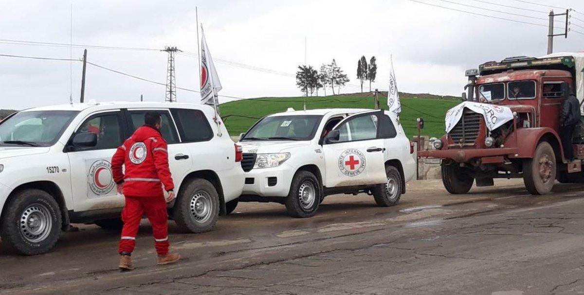 Kızılhaç: Afrin'e yardım konvoyu gidiyor