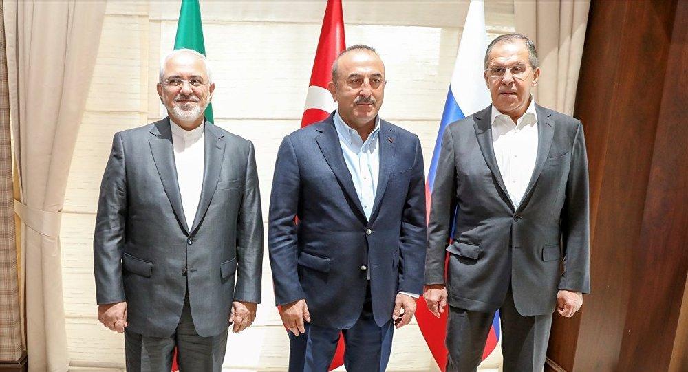 Lavrov, Çavuşoğlu ve Zarif, 16 Mart'ta Astana'da buluşacak