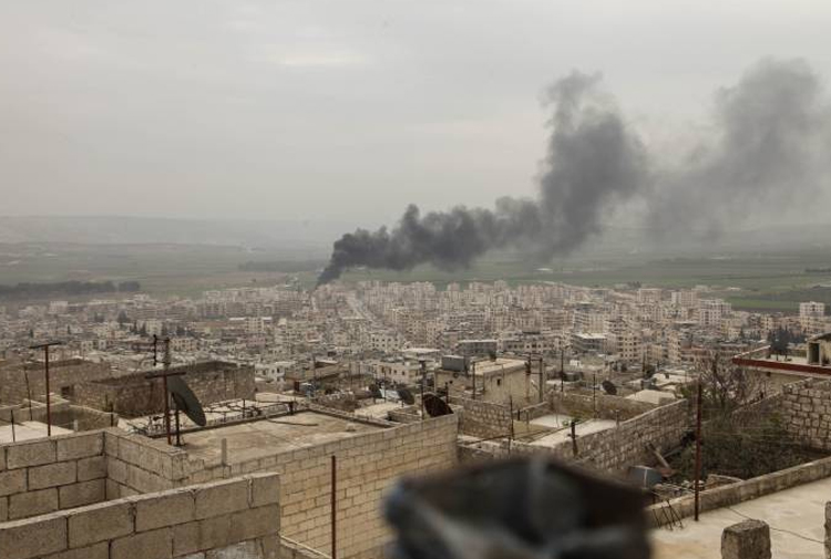 Suriye İnsan Hakları Gözlemevi: Türk jetleri Afrin'de Suriye ordusuna bağlı birlikleri vurdu