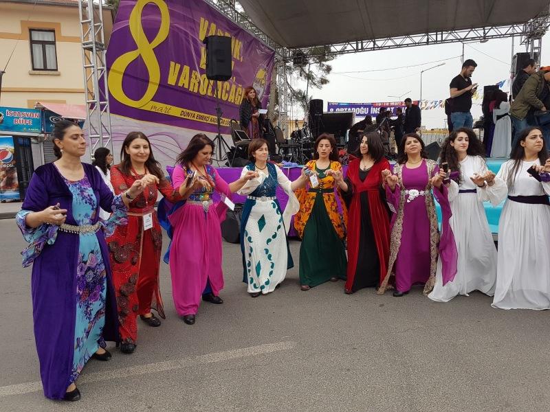 Diyarbakır'da 8 Mart Mitingi