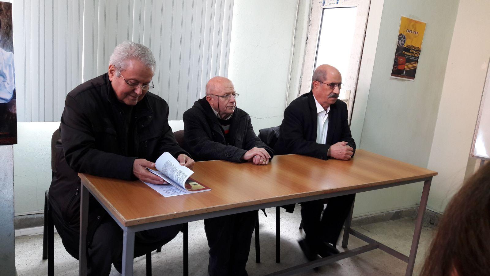 KURD-KAV'da Ali Beyköylü için taziye düzenlendi