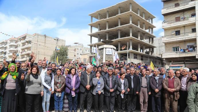 Afrin yönetiminden çağrı: Uluslararası güçler kararını vermeli!