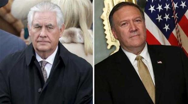 Trump ABD Dışişleri Bakanı Tillerson'u görevden aldı