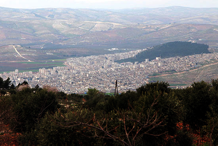 Afrin kent merkezindeki mahalleler bombalanıyor