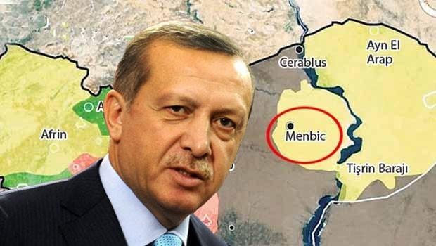 Erdoğan'dan Menbic sinyali