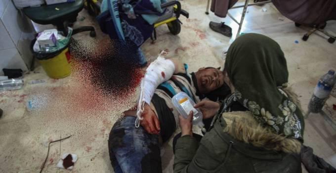 Türk uçakları Avrin Hastanesini bombaladı: 9 şehit