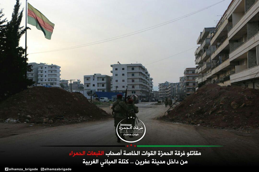 Türk medyasından 'ÖSO güçleri Afrin'e girdi' iddiası