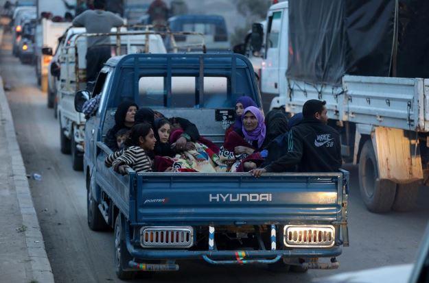 Reuters işgal altındaki Afrin'den aktardı...insani dram yaşanıyor
