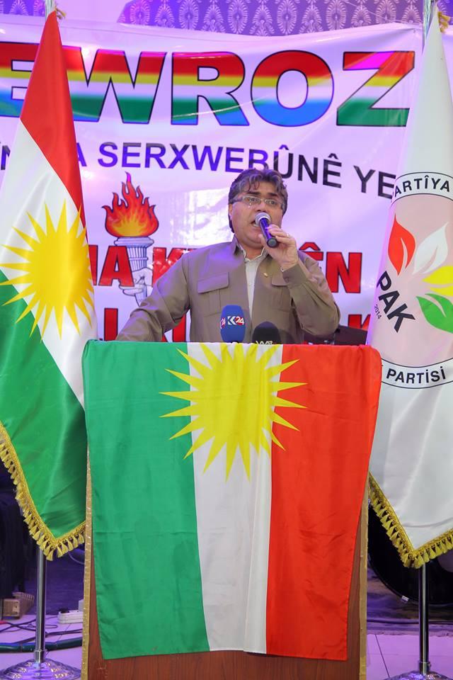 Mustafa Özçelik: Newroz ateşi özgürlük umutlarımızı büyütüyor
