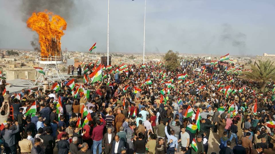 Irak güçleri, Kerkük Newrozunda halka ateş açtı!
