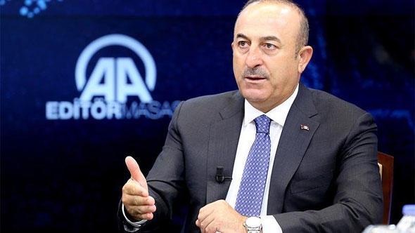 """Çavuşoğlu: """"Afrin'i yine Afrinlilerin yönetmesi gerekiyor"""""""