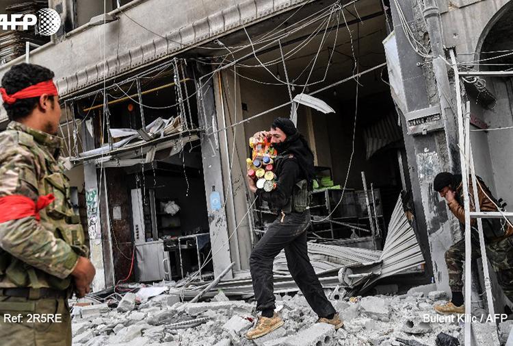 Erdoğan Afrin'deki yağmayı 'kabul etti': Bazı ÖSO gruplarında ganimet anlayışı var, konuşularak düzeltildi