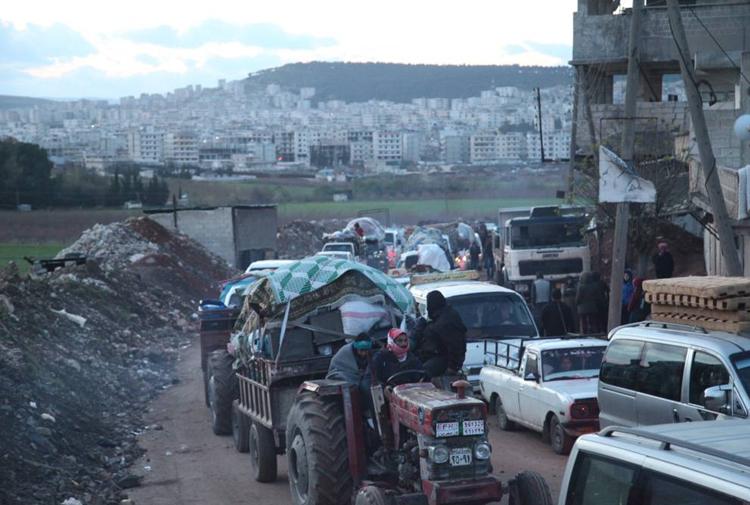 BM: Afrin'de acil insani yardıma ihtiyaç var