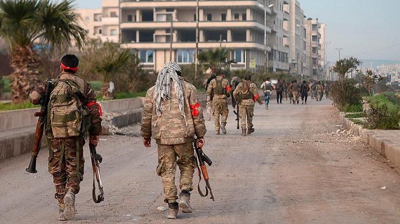 Afrin'de ÖSOlular birbiriyle çatıştı, 7 ölü