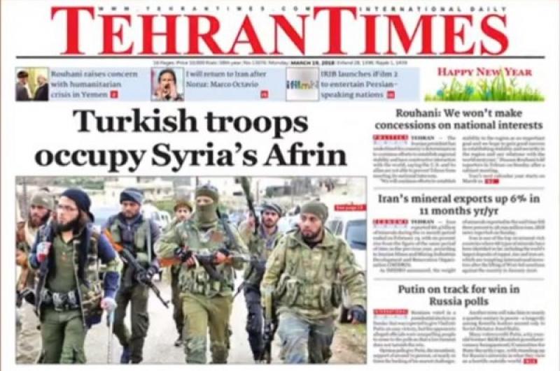 İran medyası Türkiye'ye 'işgalci' dedi