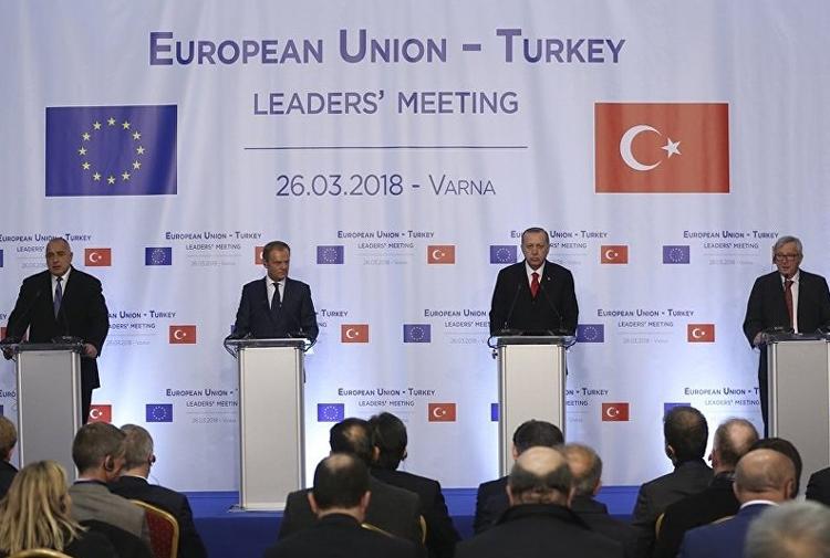 Türkiye-AB zirvesi sonrası ortak açıklama