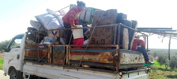 ÖSO Afrin'e dönüşlere engel oluyor