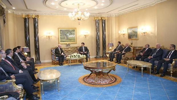 İngiliz heyetinden Başbakan Barzani'ye ziyaret