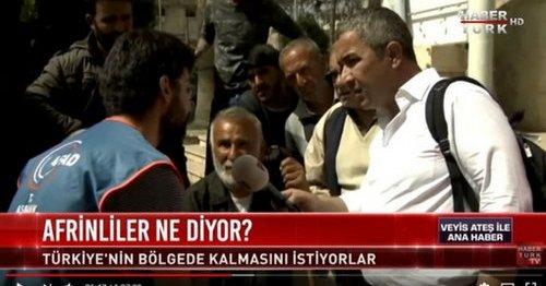 Habertürk'ten canlı yayında yalan haber!