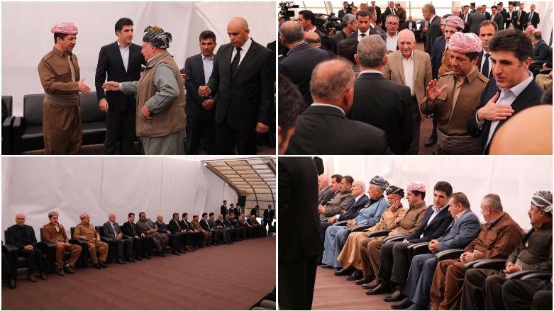 Pirmam'da Dılovan Barzani için tören