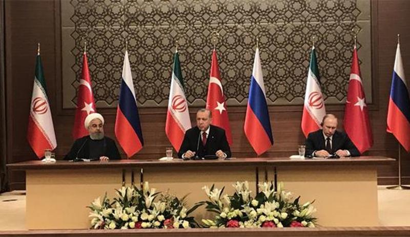 Türkiye-Rusya-İran zirvesi sona erdi..Zirve sonrası açıklama yapılıyor