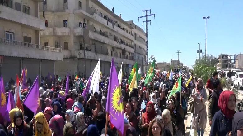 Minbiçliler Türkiye'yi protesto etti