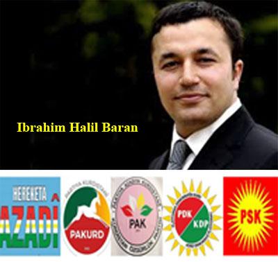 """""""İbrahim Halil Baran'a  yapılan tehditi lanetliyoruz"""""""