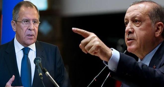 """Erdoğan'dan Lavrov'a: """"Kime teslim edeceğimizi biz biliriz"""""""