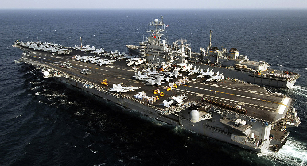 ABD donanması Akdeniz yolunda