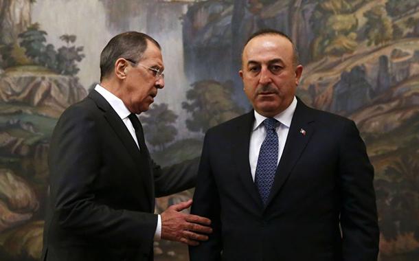 Çavuşoğlu'ndan Lavrov'a: Afrin, rejime teslim edilemez